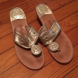 Size 10 Jack Rogers Wedge Sandals